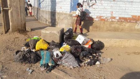 Huáscar: Vecinos reclaman recojo de basura