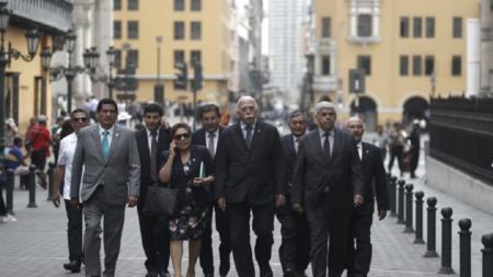 Fuerza Popular se reúne con el primer ministro Salvador del Solar