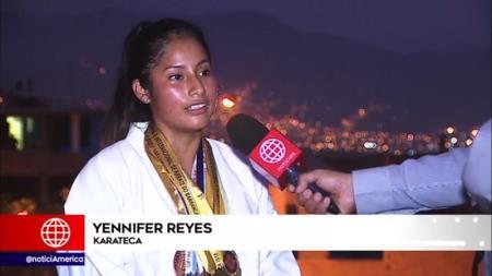 Karateca luriganchina pide apoyo para representar al Perú