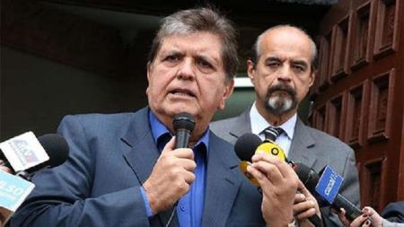 Alan García se disparó cuando era intervenido