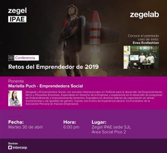 Ciclos de Conferencias en Zegel Ipae sede SJL