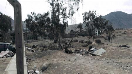 SJL: centro arqueológico luce descuidado y lleno de basura