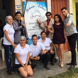 Cevichería Jama es de ¡Arriba Perú!