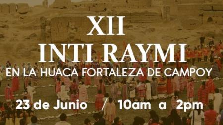 Inti Raymi en la Huaca Fortaleza de Campoy