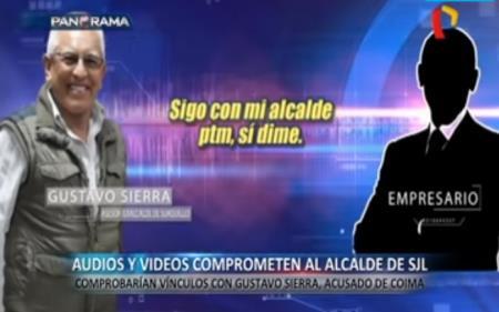Audios que vincularían a Gustavo Sierra con Alex Gonzáles