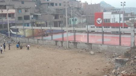 Polideportivo Huáscar no permite ingreso a los niños