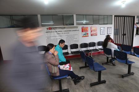 Presentan renovado Centro de Salud Mental Comunitario en SJL