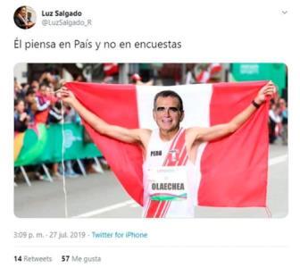 """Christian Pacheco le pide a Luz Salgado no """"colgarse"""" de su medalla en Lima 2019"""
