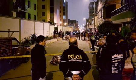 Asesinan a dos venezolanos en calles de SJL y Los Olivos