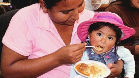 Perú, batalla contra la anemia