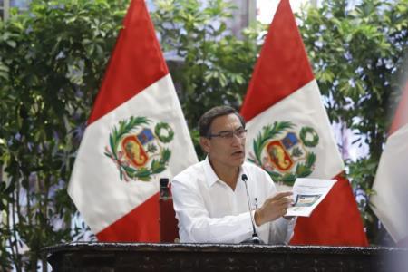 Perú reporta cuatro muertes por coronavirus COVID-19 informó presidente Vizcarra en conferencia de prensa