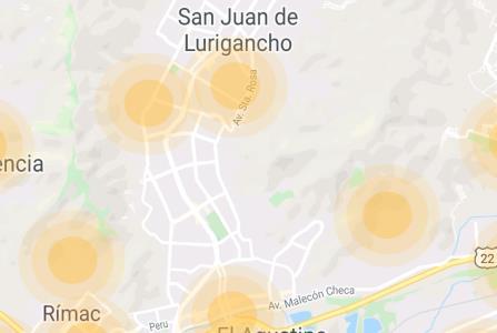 Existen 4 zonas de riesgo de COVID-19 en San Juan de Lurigancho