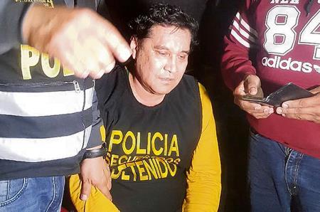 Ex alcalde Carlos Burgos es capturado en Hostal