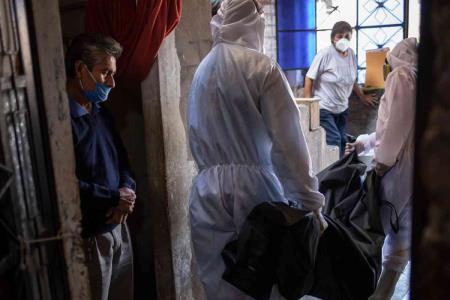 Peru presenta 8805 infectados nuevos en un solo dia