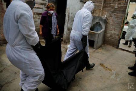 Perú registra récord de 206 fallecidos por COVID-19