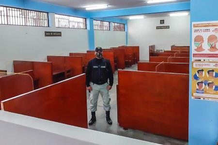 Implementan módulos en Penal de Lurigancho para evitar contagios de COVID-19