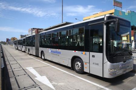 Gobierno subsidiará al Metropolitano para evitar interrupción del servicio