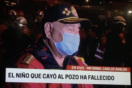 Fallece niño que cayó a pozo en Cercado de Lima