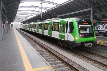 Metro de Lima: restringen servicio entre estaciones de Línea 1 por accidente de tránsito