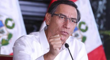 Martin Vizcarra se manifiesta tras la negativa de confianza al gabinete Cateriano