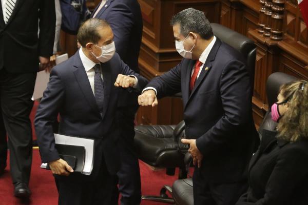 Congreso otorga voto de confianza a Gabinete Walter Martos