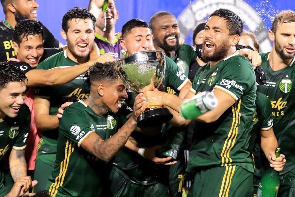 Andy Polo campeona en la MLS con el Portland Timbers