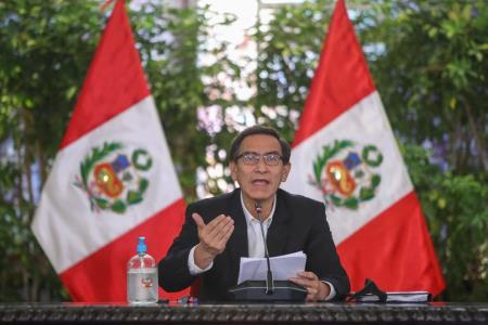 Martín Vizcarra anuncia nuevas medidas ante el avance del Covid-19