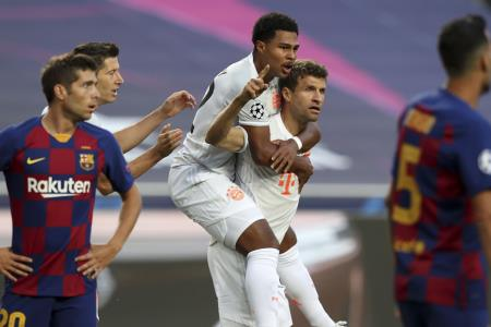 Champions League: Bayern Munich aplasta al Barcelona y avanza a semifinales