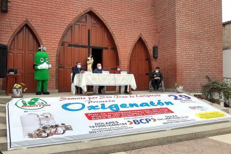 Inician campaña para implementación de Planta de Oxigeno Medicinal en SJL