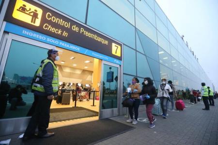 Este 1 de octubre se reanudarán vuelos internacionales en el Perú