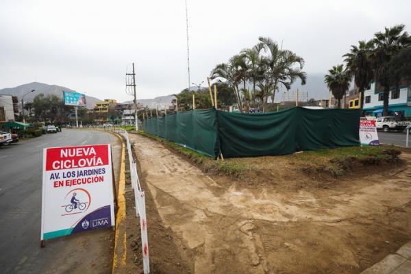 Inician obras de la primera ciclovía en San Juan de Lurigancho