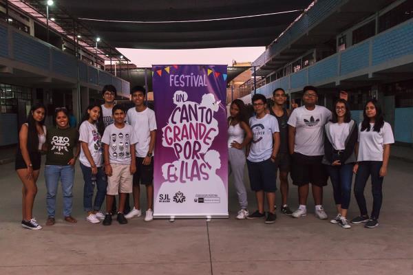 Colectivo juvenil promueve festival para frenar la violencia contra la mujer en SJL