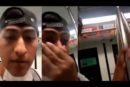 Línea 1: sentencian a sujeto que dejó secreciones nasales dentro de vagón