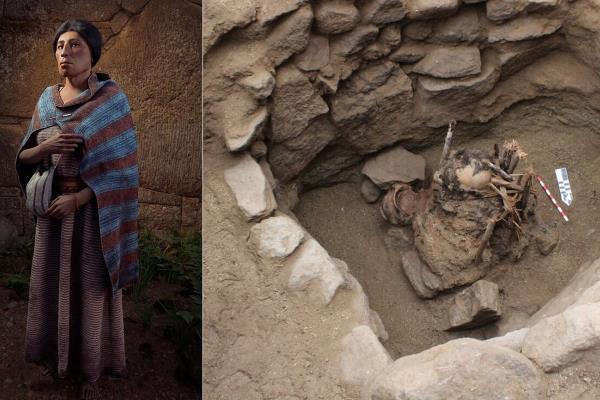 Hallan tumba de mujer que vivió hace más de 600 años en SJL
