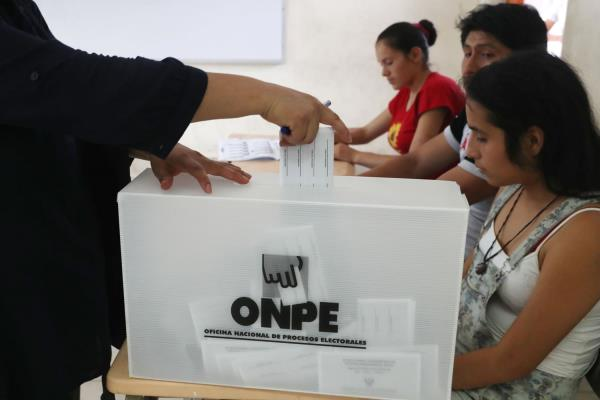 ONPE publicará este jueves 18 lista definitiva de miembros de mesa