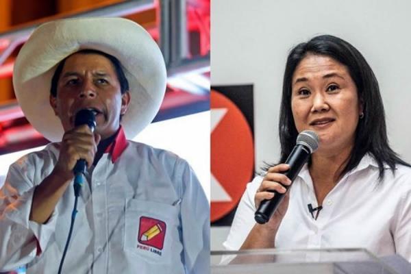 Pedro Castillo vs. Keiko Fujimori