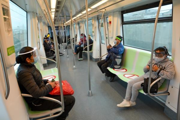 Metro de Lima orienta virtualmente a prevenir la COVID-19