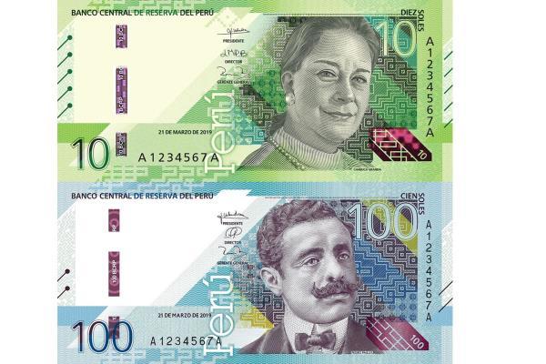BCRP emite billetes de S/ 10 y S/ 100 con nuevos diseños