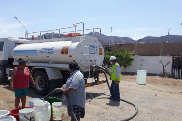 Sedapal: estos son los puntos de abastecimiento en San Juan de Lurigancho