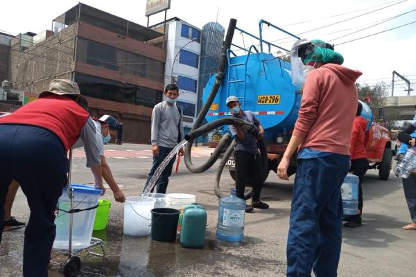 Sunass inició supervisión a Sedapal por desabastecimiento de agua potable en SJL