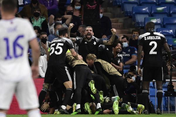Champions League: Sheriff Tiraspol vence de visita al Real Madrid