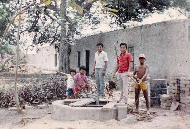 Hasta hace algunas décadas la zona de Campoy se abastecía de agua gracias a la napa freática