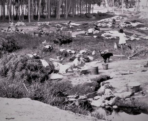 Hace 50 años el agua circulaba libre, discurría por canales y puquiales como los de Caja de agua