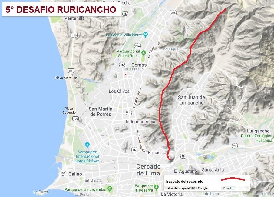 35 kilómetros de pura cresta de la quebrada Canto Grande