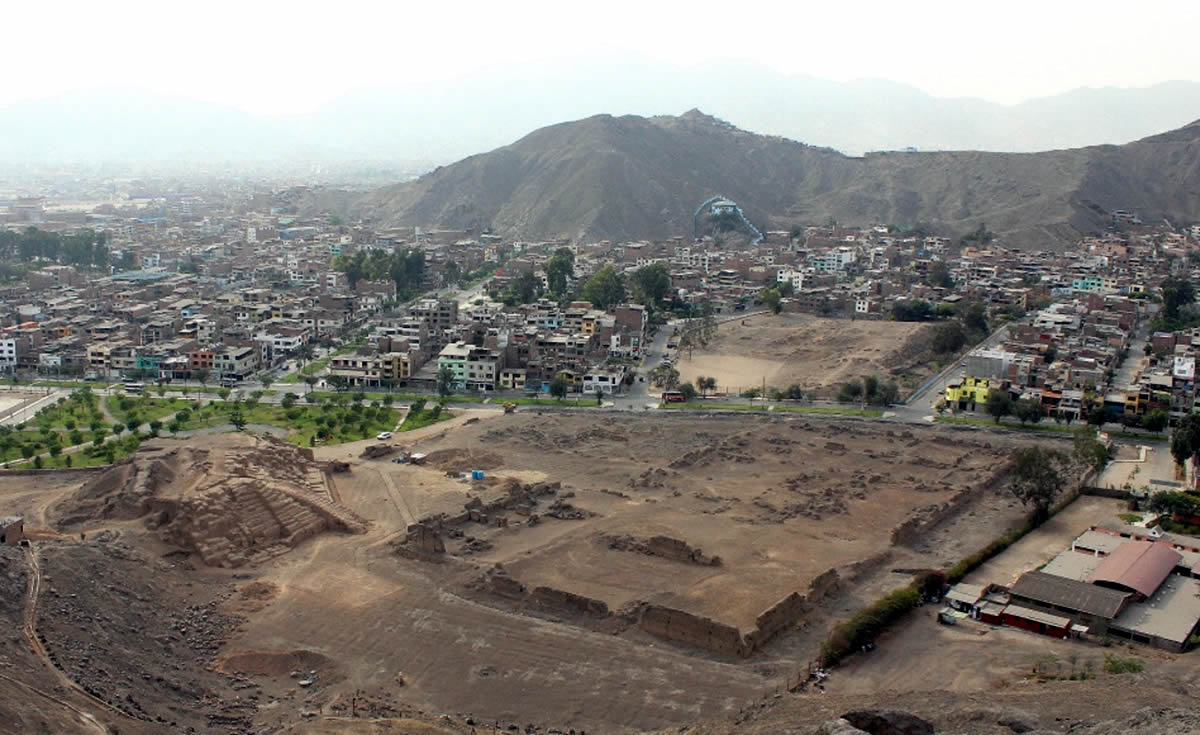 Mangomarca capital prehispánica de Lurigancho (Foto: Julio Abanto, 2018)