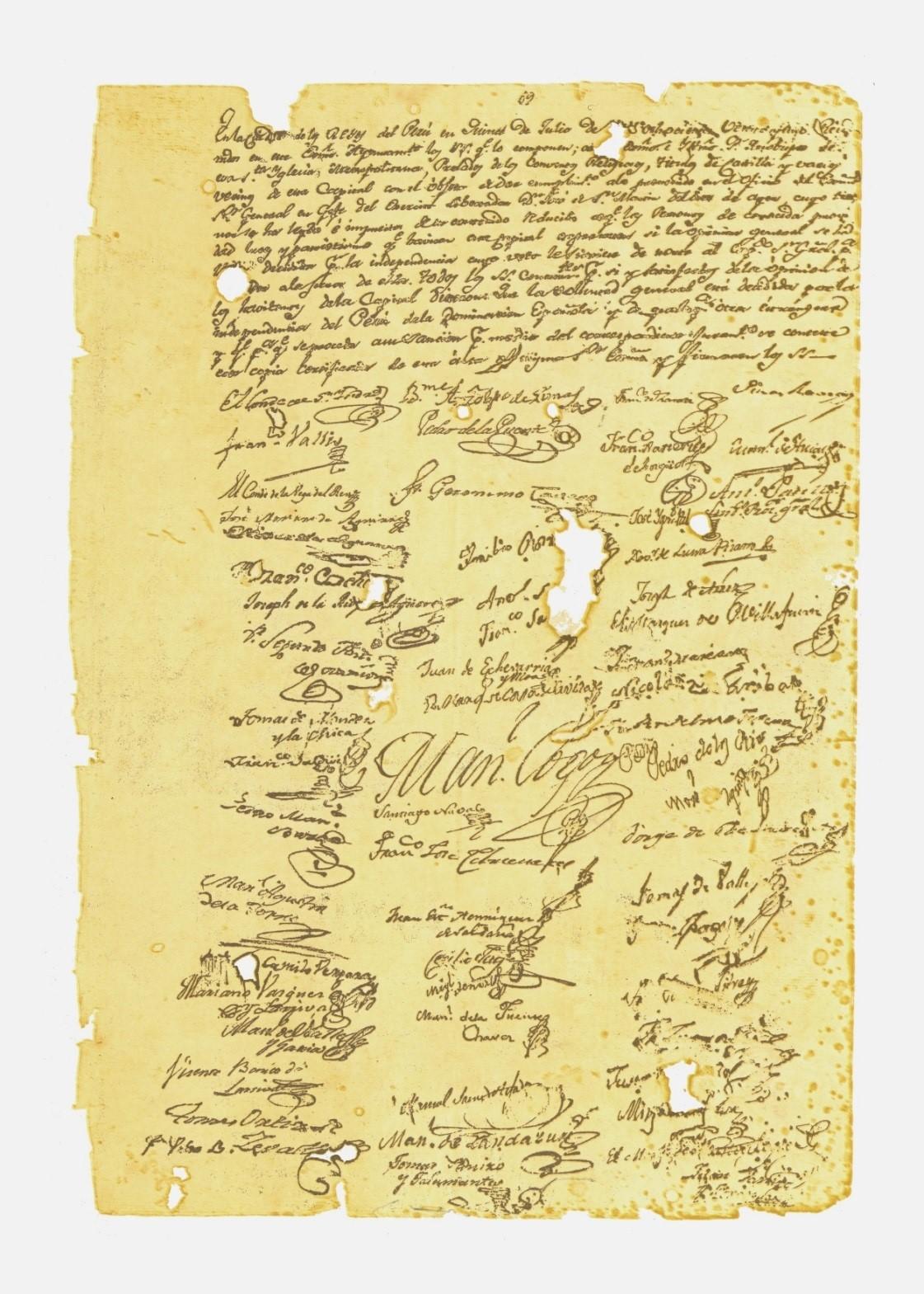 Acta de Proclamación de la Independencia