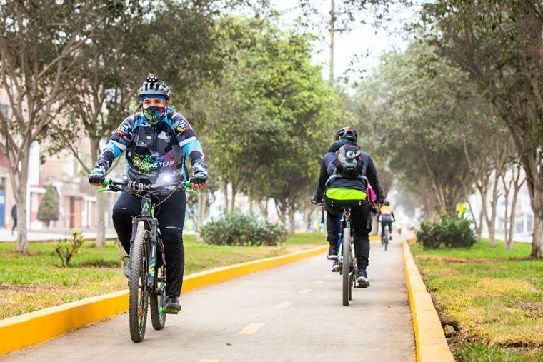 La nueva ciclovía tiene una extensión de 1.67 kilómetros (Fuente: El Peruano)