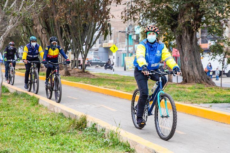Nueva ciclovía se ubica en la avenida Jorge Basadre (Fuente: El Peruano)