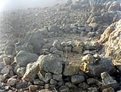 Refugios de los primeros grupos humanos en la quebrada Canto Grande.